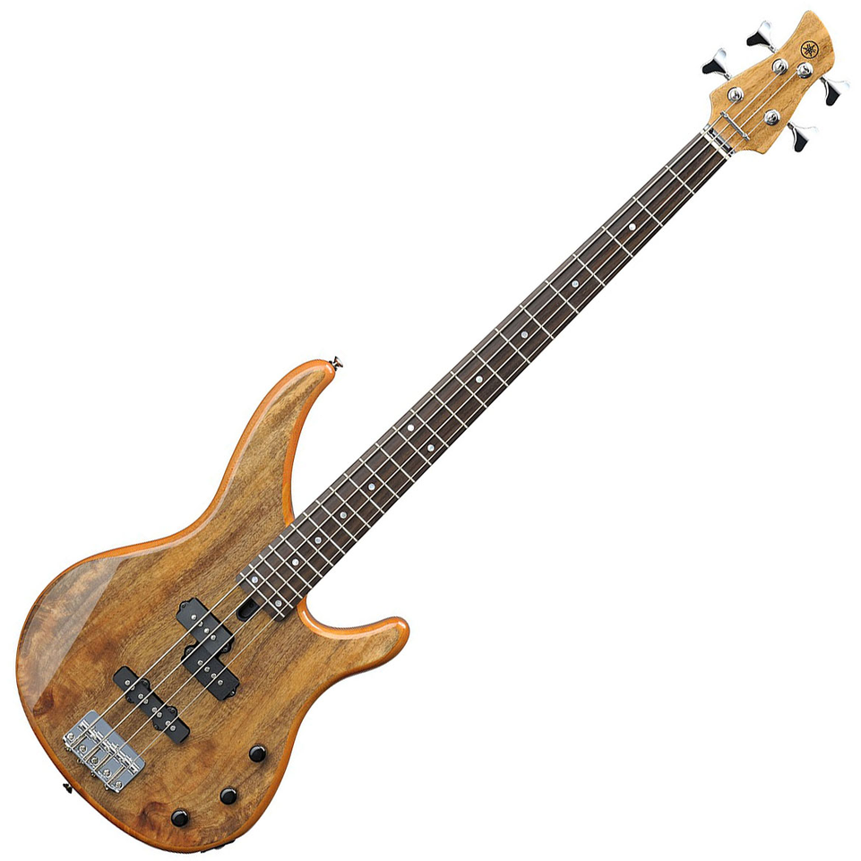 Yamaha TRBX174EW Exotic Wood Bass Electric Guitar - Natural