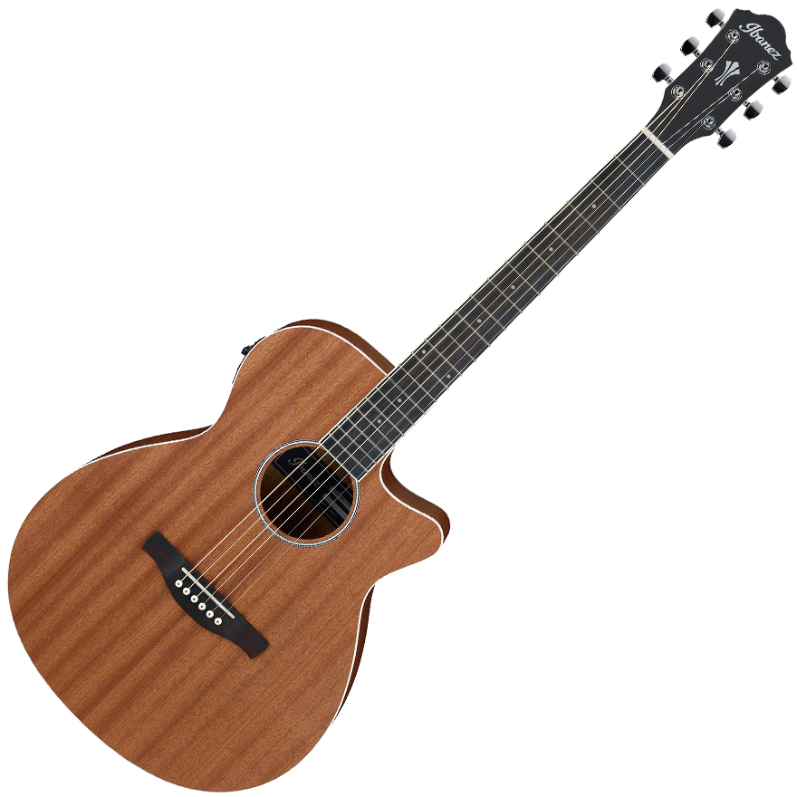 Ibanez AEG7MH OPN Acoustic Guitar - Open Pore Natural