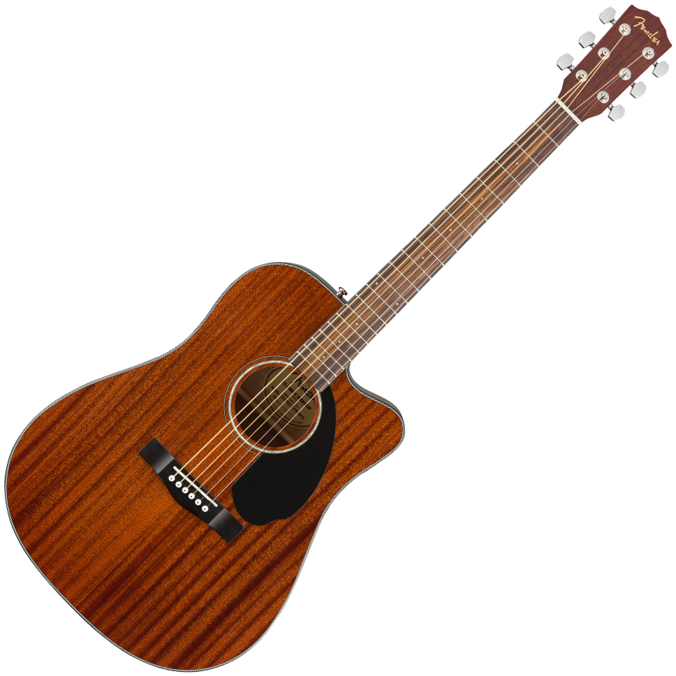 Fender CD-60SCE Dreadnought - All-Mahogany - Natural