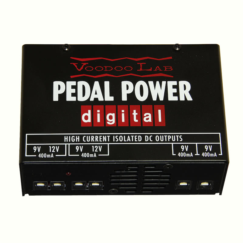 Voodoo Lab Pedal Power Digital - Aust Guitar Pedal Power Supply