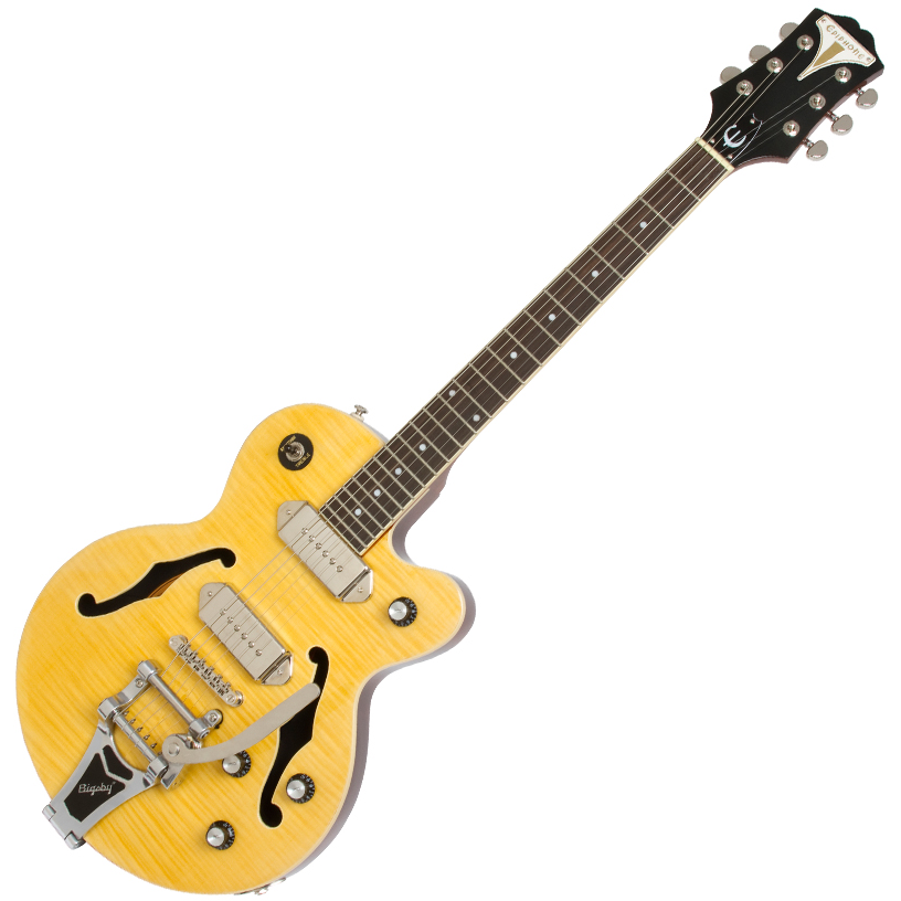 Epiphone Wildkat w/Bigsby Vibrotone Antique Natural - Natural