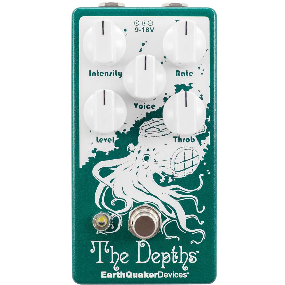 EarthQuaker Devices Depths Optical Vibe Machine V2