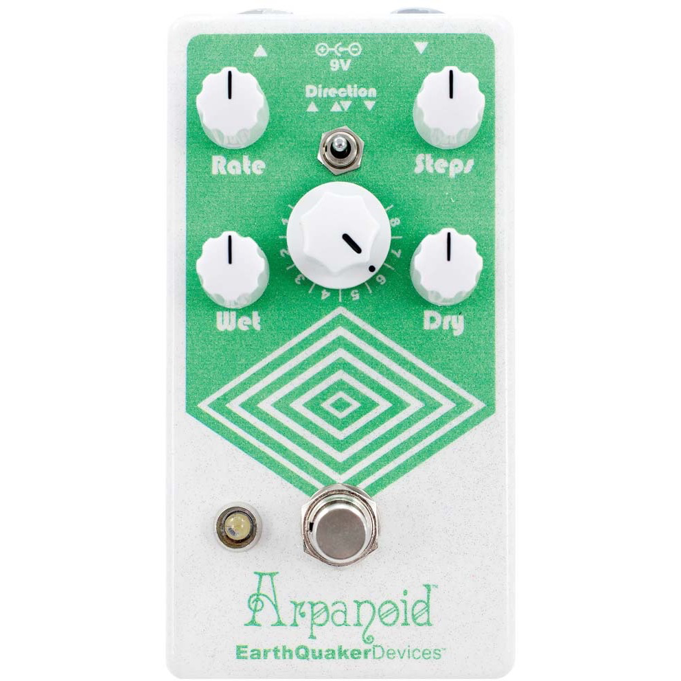 EarthQuaker Devices Arpanoid Poly Pitch V2 Arpeggiator Pedal
