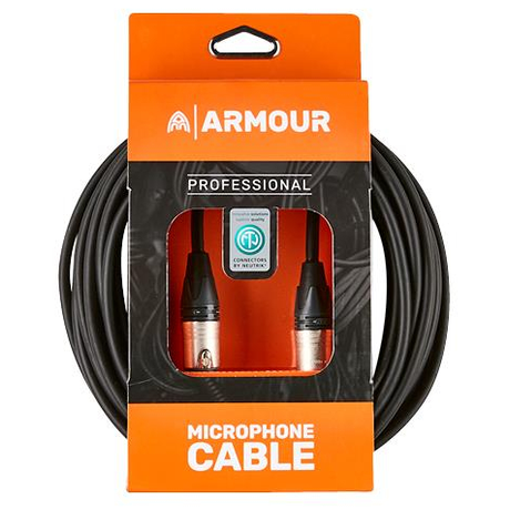 Armour NXXP10 Microphone Cable 10 Foot - Neutrik Connector XLR to XLR