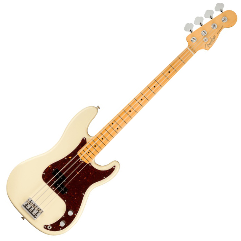 Fender American Professional II Precision Bass - Maple/Olympic White