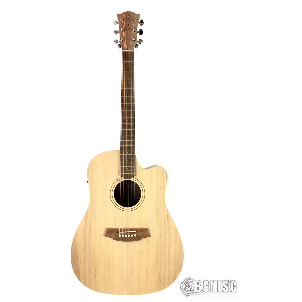 Cole Clark Fat Lady 1 Acoustic Guitar - Bunya Face - Queensland Maple Back & Sides w/Pickup