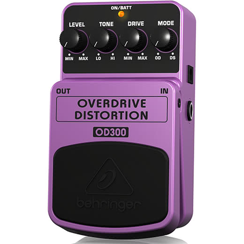 Behringer OD300 Overdrive and Distortion