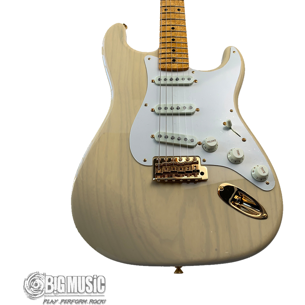 Fender 2019 Limited '59 Stratocaster - NOS/Gold Hardware/Lightweight Ash Body/AAA Birdseye Maple neck - Vintage Blonde