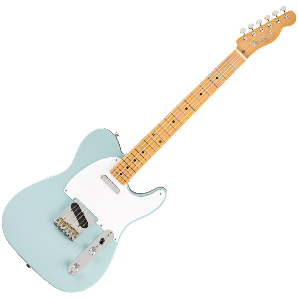 Fender Vintera '50s Telecaster Electric Guitar - Maple Fingerboard - Sonic Blue