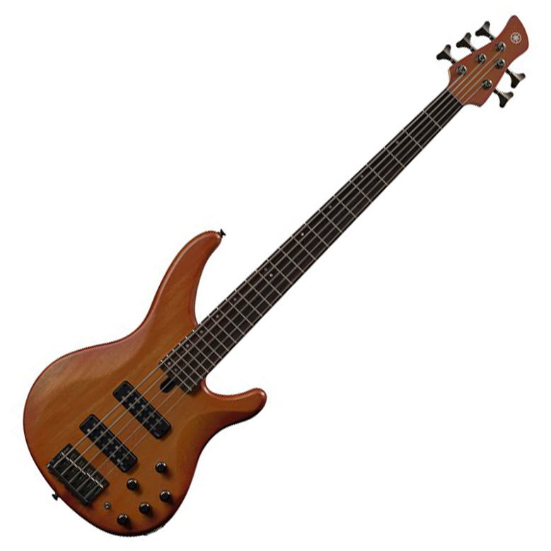 Yamaha TRBX505 5-String Bass Guitar Brick Burst Finish