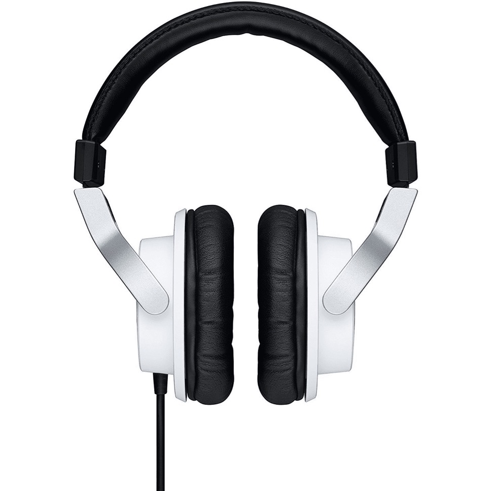 Yamaha HPH-MT7W Studio Headphones - White