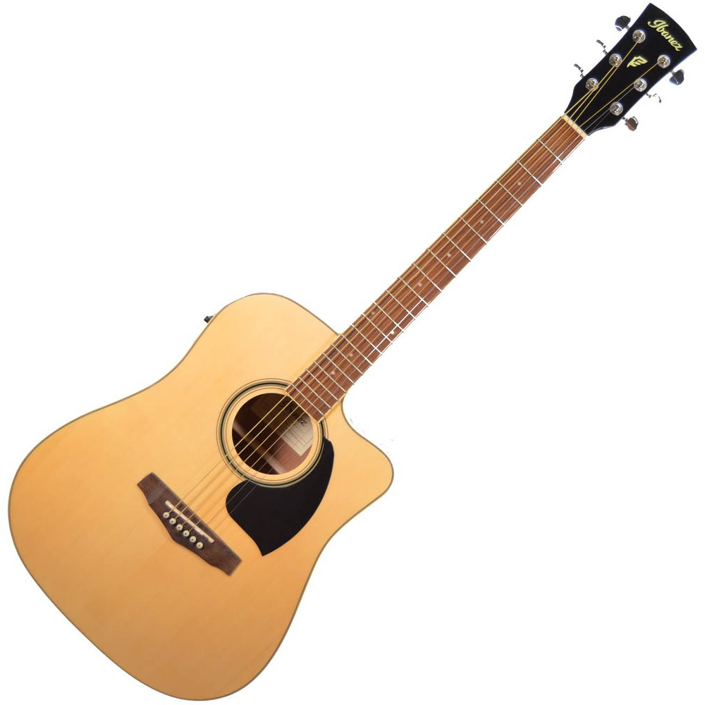 Ibanez PF15ECE NT Acoustic Guitar - Natural