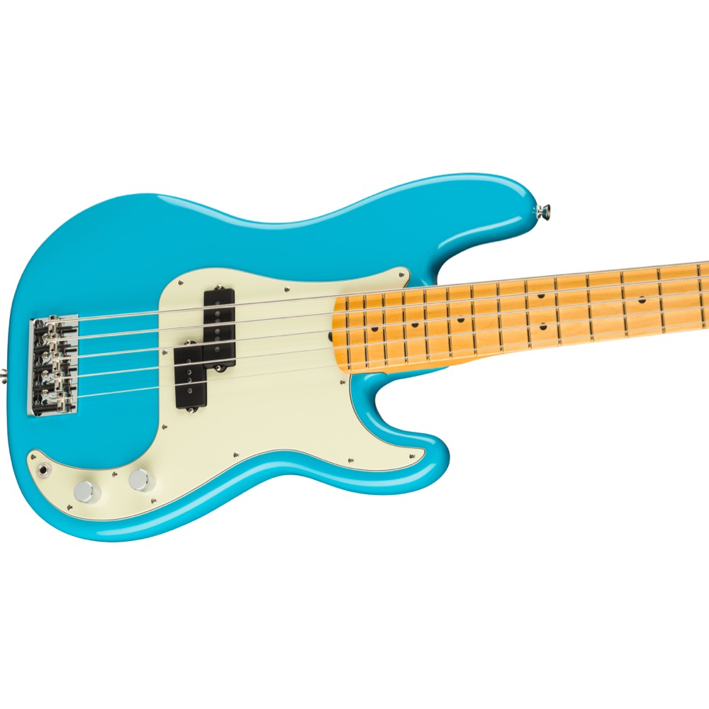 Fender American Professional II Precision Bass V - Maple/Miami Blue