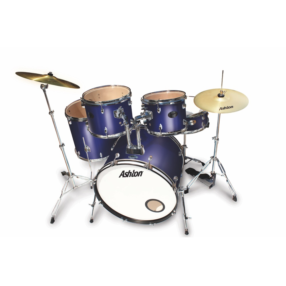 Ashton TDR522MB Rock Drumkit in Midnight Blue