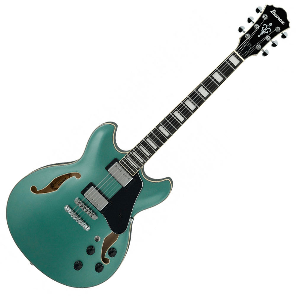 Ibanez AS73 OLM Electric Guitar - Olive Metallic