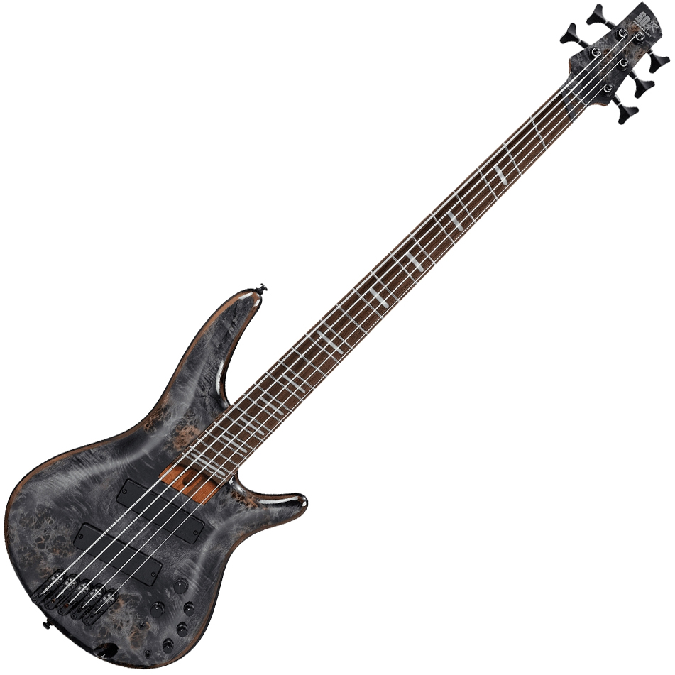 Ibanez SRMS805 DTW Electric 5 String Bass - Deep Twilight