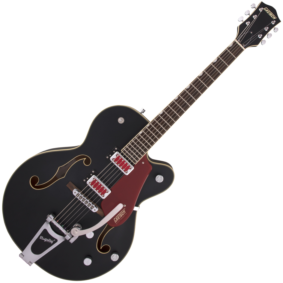"Gretsch G5410T Electromatic ""Rat Rod"" Hollow Body Single-Cut with Bigsby - Rosewood Fingerboard - Matte Black"