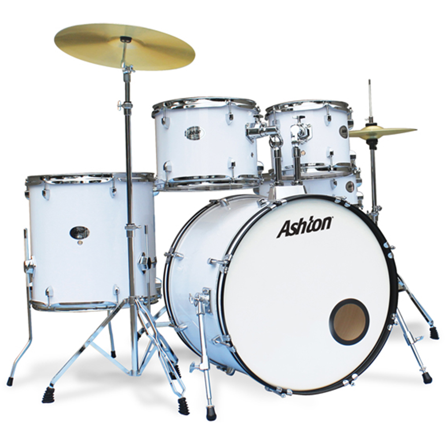 Ashton TDR520WH Drumkit in White