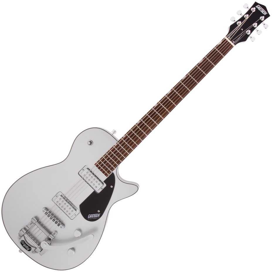 Gretsch G5260T Electromatic Jet™ Baritone with Bigsby - Laurel Fingerboard - Airline Silver