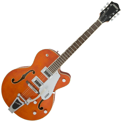 Gretsch G5420T Electromatic Hollowbody Electric Guitar - Orange Stain