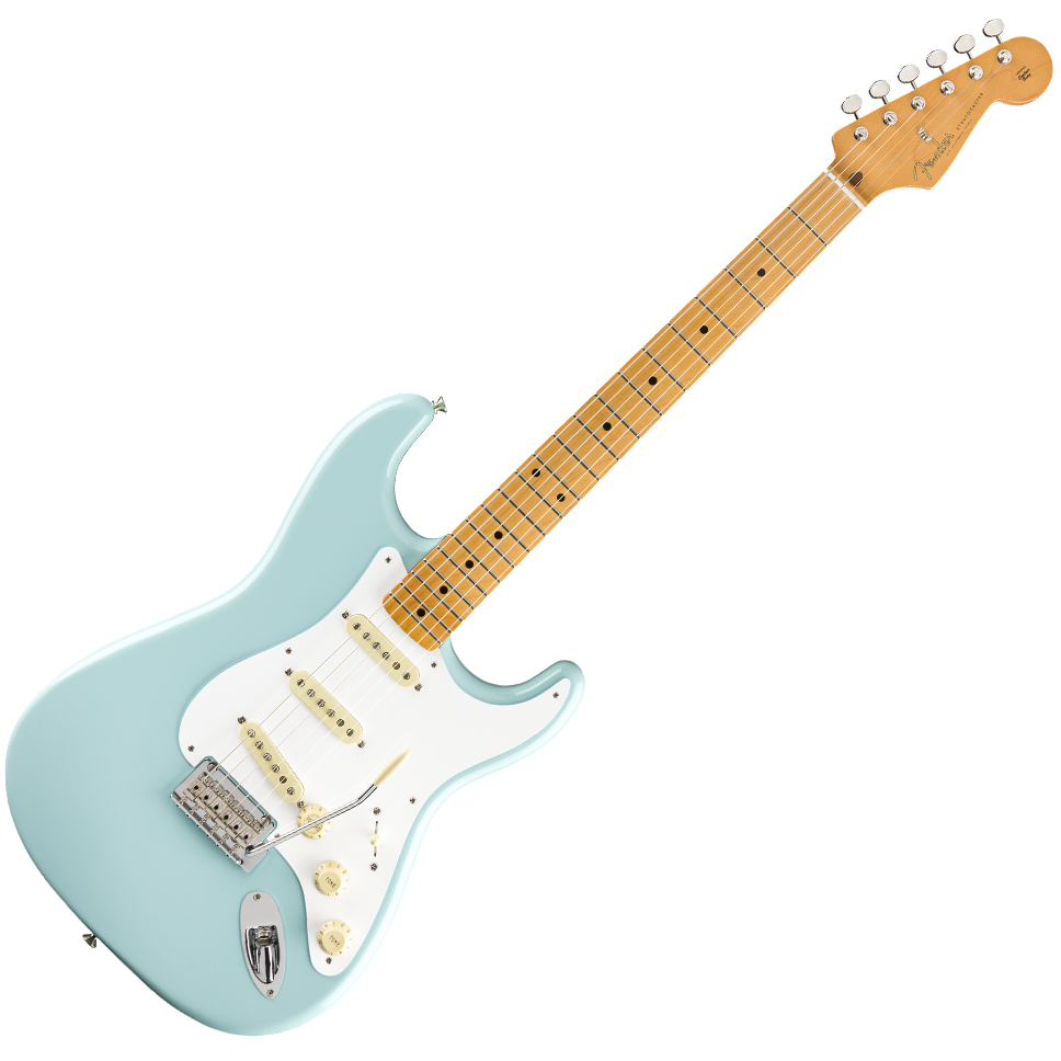 Fender Vintera '50s Stratocaster Modified Electric Guitar - Maple Fingerboard - Daphne Blue