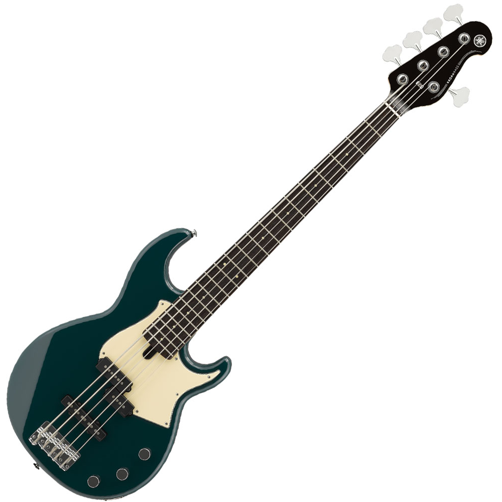 Yamaha BB435 5-String Bass Guitar - Teal Blue