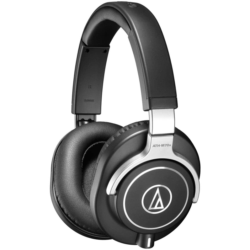 Audio-Technica ATH-M70x Super Premium studio Headphones w/Case
