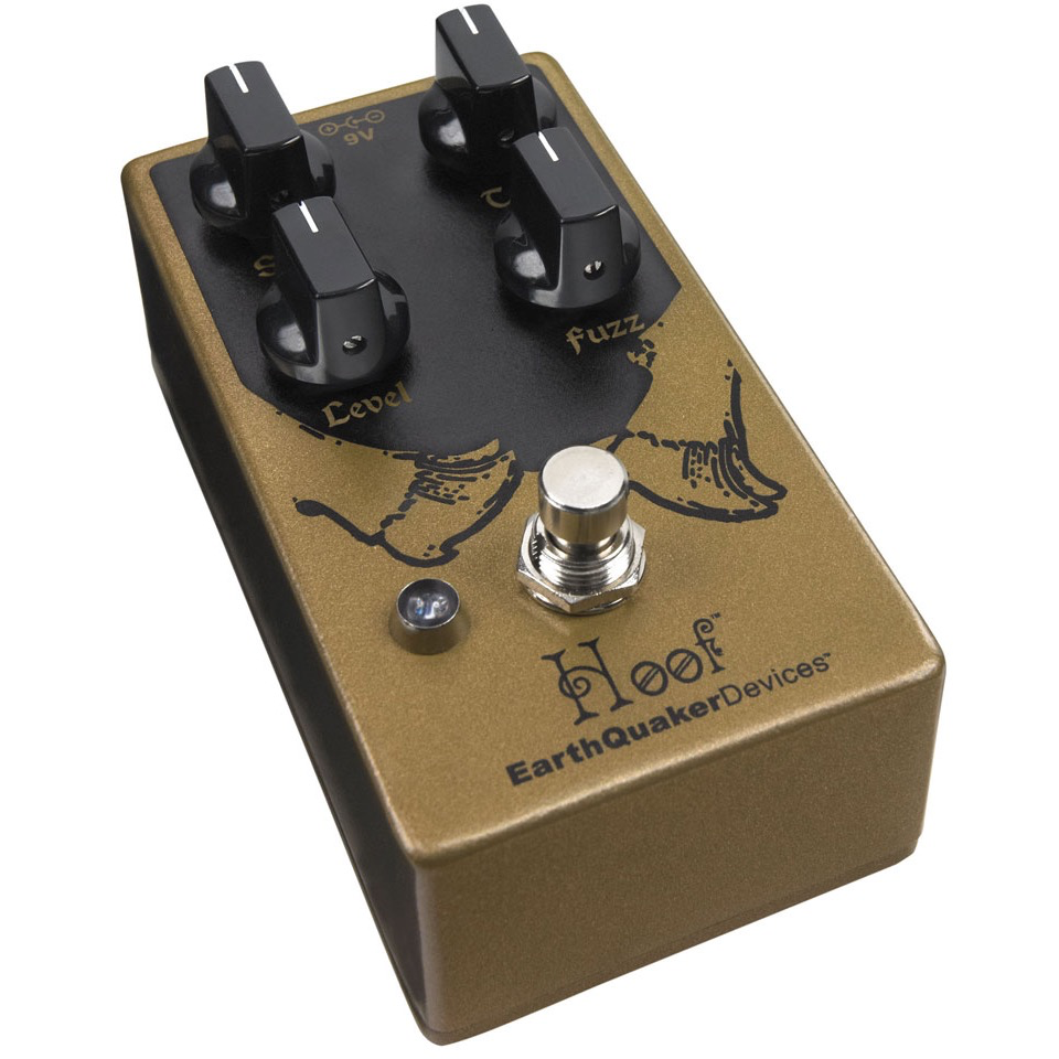 Earthquaker Devices Hoof Germanium/Silicone Fuzz V2