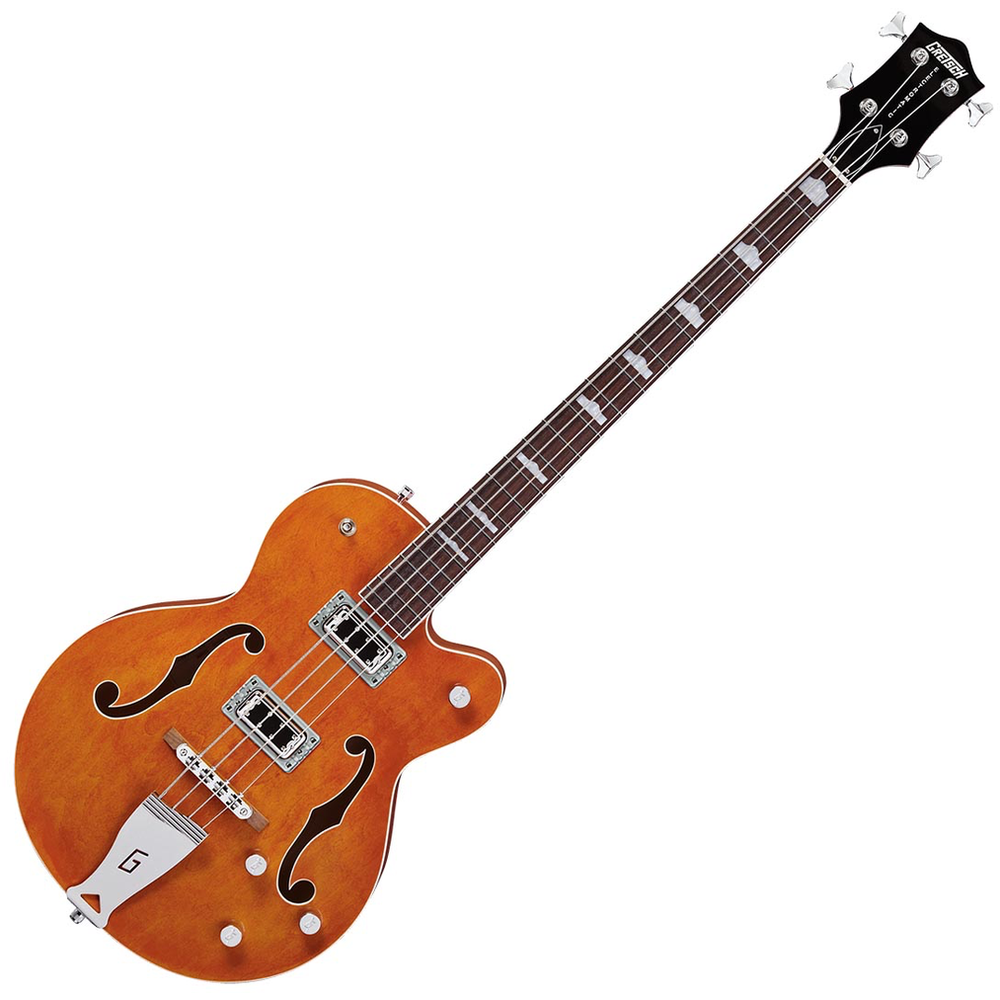 Gretsch G5440LS Electromatic Hollow Body Long Scale Bass Electric Guitar - Orange