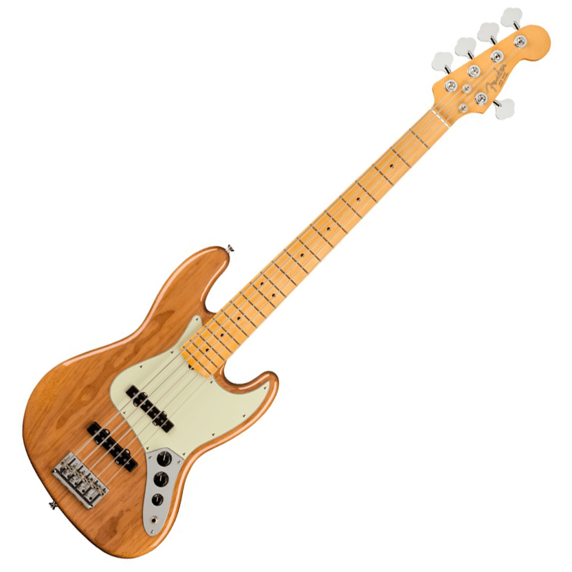 Fender American Professional II Jazz Bass V - Maple/Roasted Pine