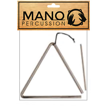 "Mano Percussion EM308 8"" Triangle"