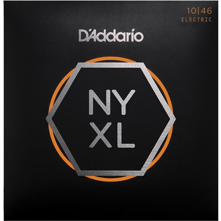 D'Addario NYXL1046 Nickel Wound Electric Guitar Strings - Regular Light - 10-46