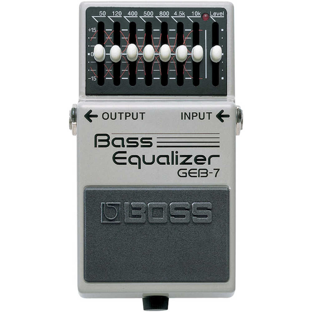 Boss GEB7 Bass Graphic EQ Pedal