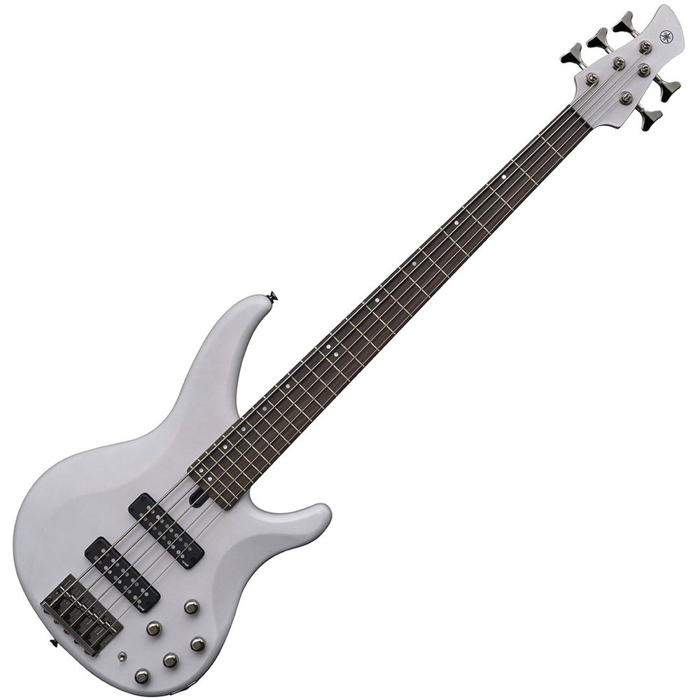Yamaha TRBX505 Translucent White Bass Guitar