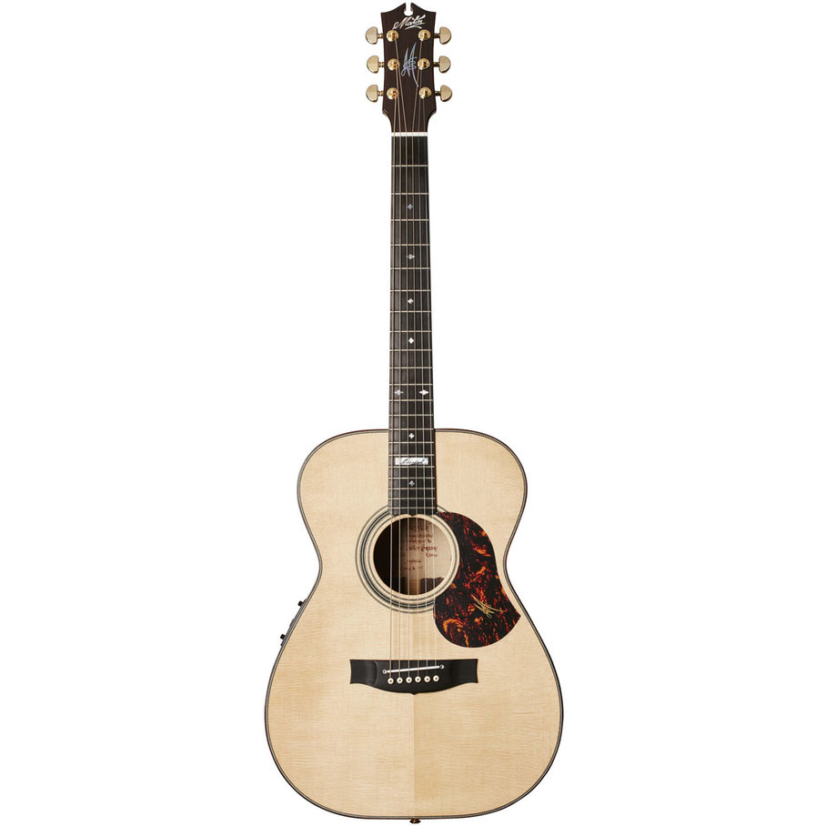 Maton EM100-808 Messiah Acoustic/Electric Guitar - Natural Gloss w/Case