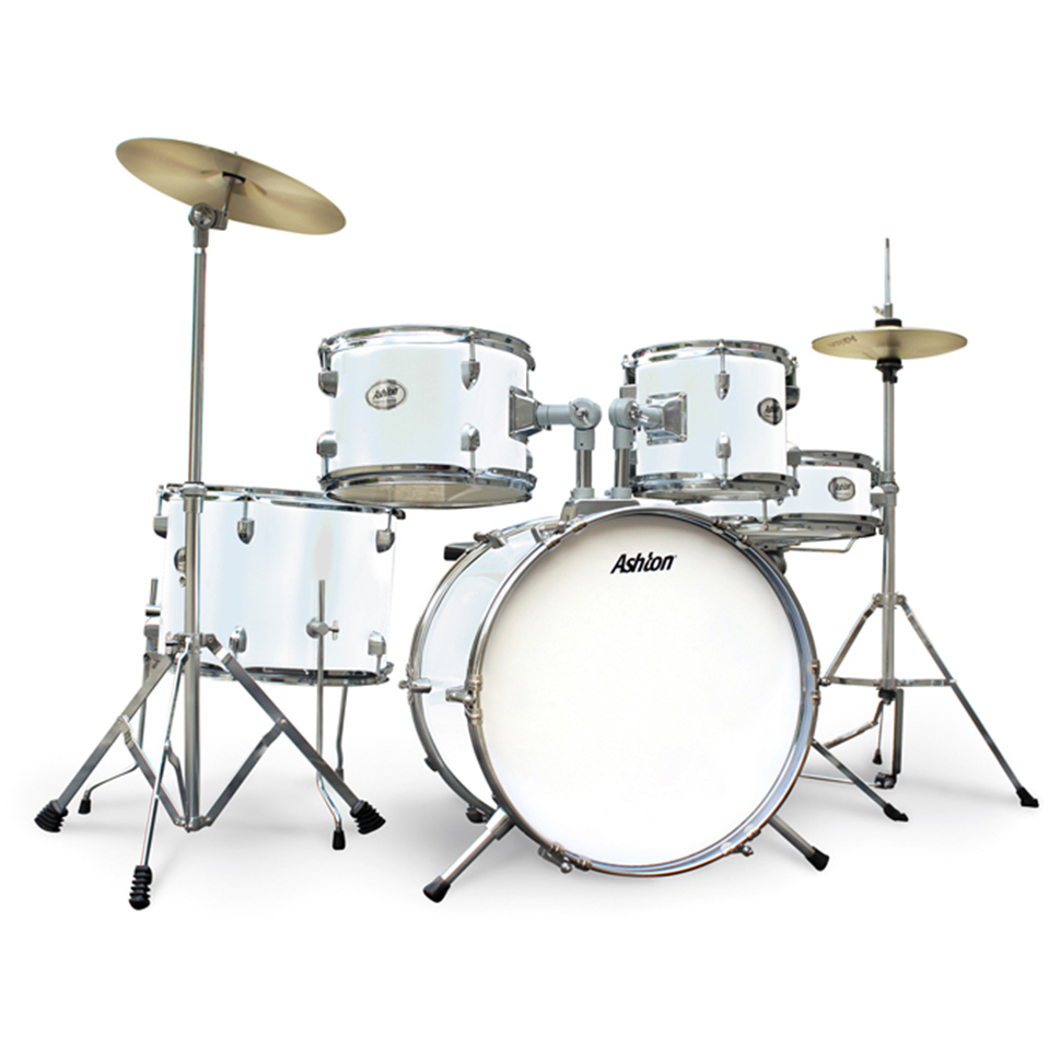 Ashton JOEYDRUM White Drumkit