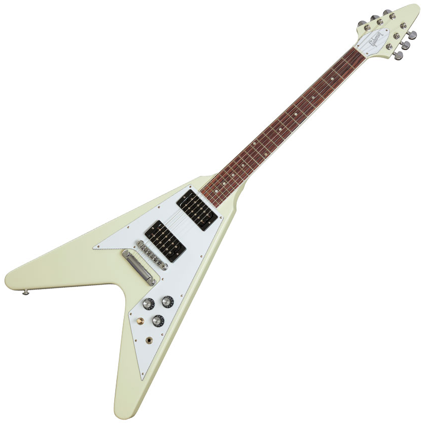 Gibson 70's Flying V Classic White