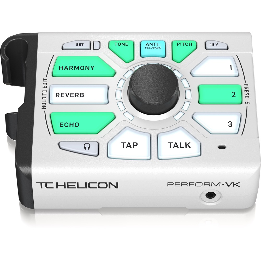TC Helicon Perform-VK White Vocal Processor