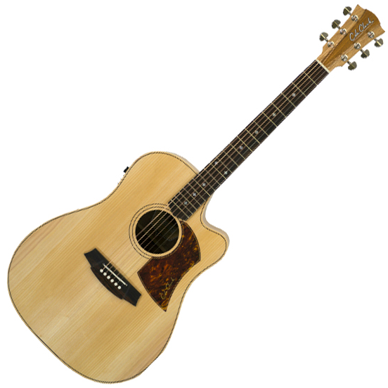 Cole Clark Fat Lady 2 Acoustic Guitar - Bunya Face - Australian Blackwood Back & Sides