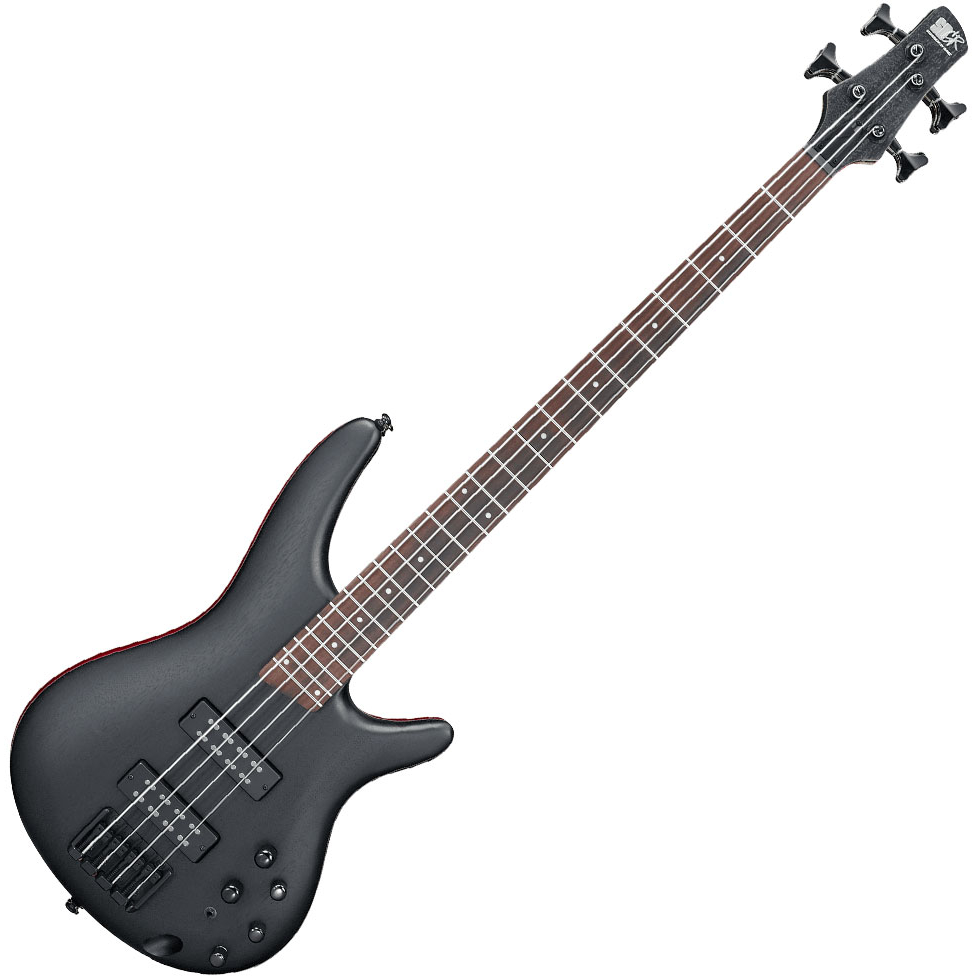 Ibanez SR300EB WK Electric Bass - Weathered Black