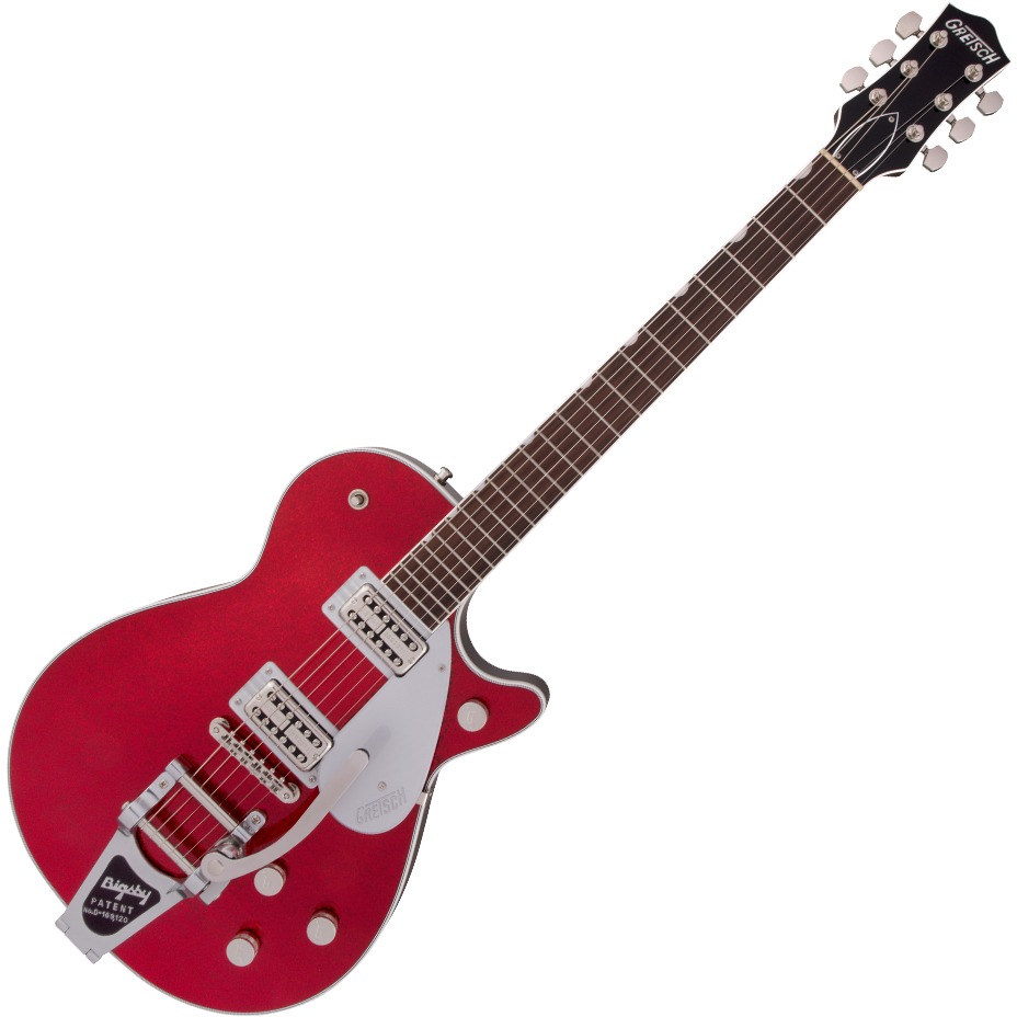 Gretsch G6129T Players Edition Jet™ FT with Bigsby - Rosewood Fingerboard - Red Sparkle
