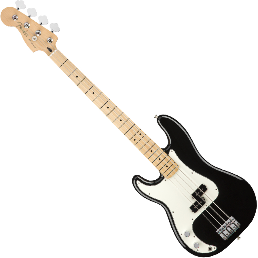 Fender Player Precision Bass Guitar Left-Handed - Maple / Black