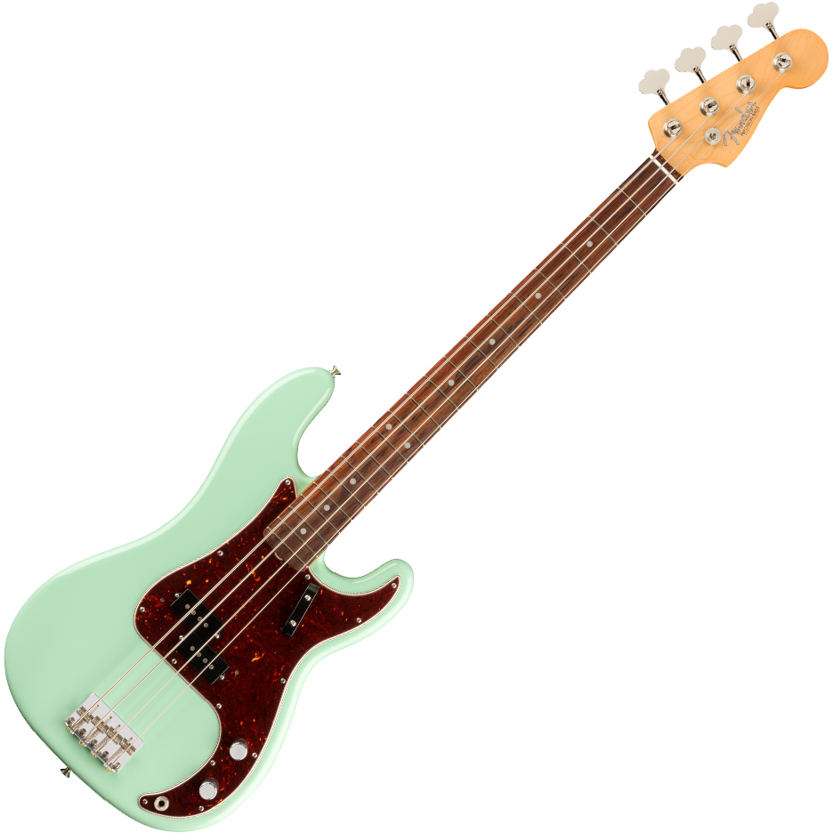 Fender American Original '60s Precision Bass - Rosewood Fingerboard - Surf Green