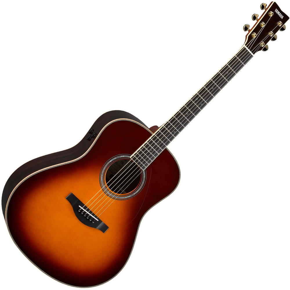 Yamaha LL16 TransAcoustic Acoustic/Electric Guitar - Brown Sunburst