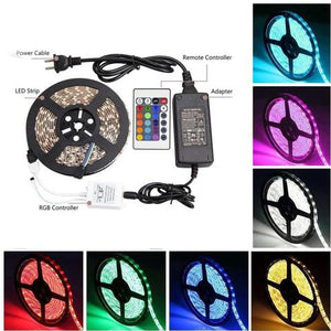 Luxe™ Remote Controlled Multi-Color LED Strip (5 Meters)
