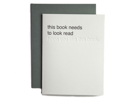 this book needs to look read (hope you like this book.)