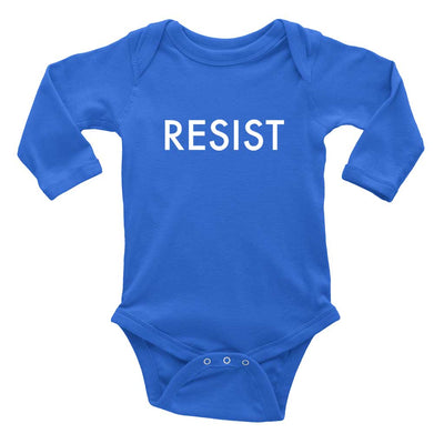 Long Sleeve Baby Romper Resist