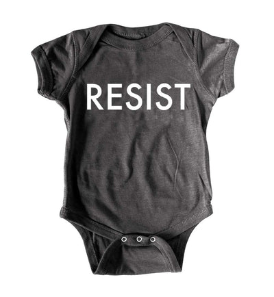 Funny Political Baby Romper RESIST