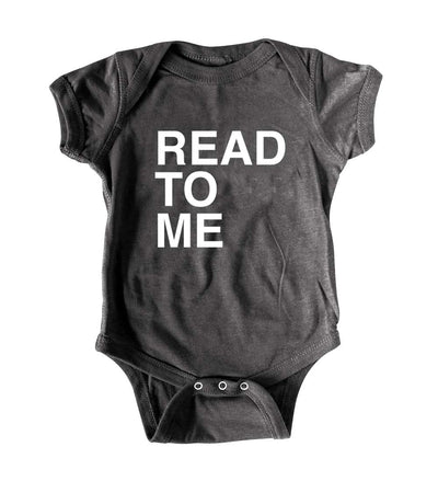 Funny Baby Romper Read To Me