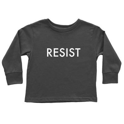 Funny Long Sleeve Shirt for Kids Resist